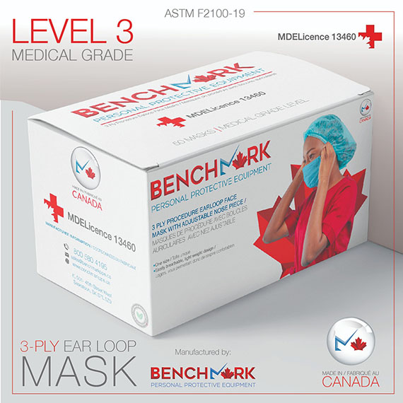 ASTM Level 3 Disposable Mask