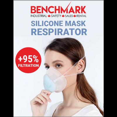 Silicone 95 percent respirator