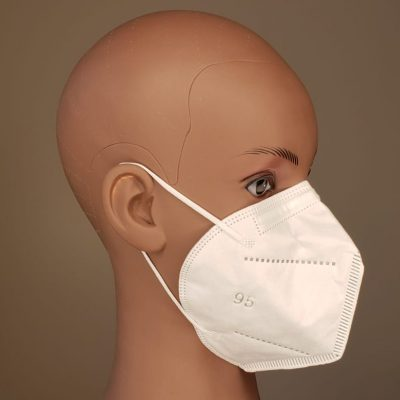 N95 level respirator earloop